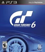 Gran Turismo 6 PS3 cover (BCUS98296)