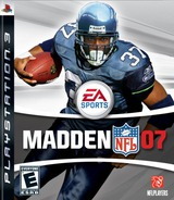 Madden NFL '07 PS3 cover (BLUS30014)