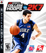 College Hoops 2K7 PS3 cover (BLUS30026)