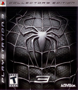 Spider-Man 3 (Collector's Edition) PS3 cover (BLUS30030)