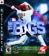 The Bigs PS3 cover (BLUS30033)