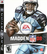 Madden NFL 08 PS3 cover (BLUS30037)
