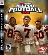 All-Pro Football 2K8 PS3 cover (BLUS30049)
