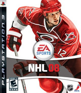 NHL '08 PS3 cover (BLUS30062)