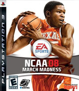 NCAA March Madness '08 PS3 cover (BLUS30098)