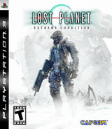 Lost Planet: Extreme Condition PS3 cover (BLUS30113)