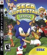 Sega Superstars Tennis PS3 cover (BLUS30123)