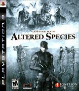 Vampire Rain: Altered Species PS3 cover (BLUS30126)