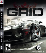 Race Driver: GRID PS3 cover (BLUS30142)