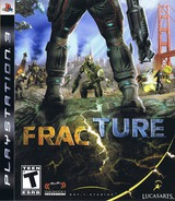Fracture PS3 cover (BLUS30184)