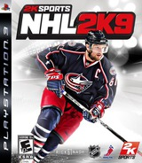 NHL 2K9 PS3 cover (BLUS30188)