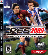 Pro Evolution Soccer 2009 PS3 cover (BLUS30189)