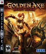 Golden Axe: Beast Rider PS3 cover (BLUS30209)