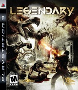 Legendary PS3 cover (BLUS30210)