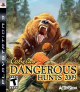 Cabela's Dangerous Hunts 2009 PS3 cover (BLUS30221)