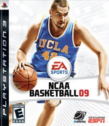 NCAA Basketball '09 PS3 cover (BLUS30231)
