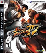 Street Fighter IV PS3 cover (BLUS30265)