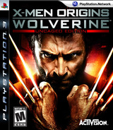 X-Men Origins: Wolverine (Uncaged Edition) PS3 cover (BLUS30268)