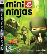 Mini Ninjas PS3 cover (BLUS30284)