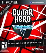 Guitar Hero: Van Halen PS3 cover (BLUS30291)