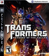 Transformers: Revenge of the Fallen PS3 cover (BLUS30297)