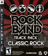 Rock Band: Track Pack - Classic Rock PS3 cover (BLUS30327)