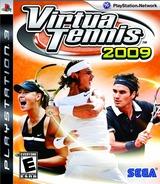 Virtua Tennis 2009 PS3 cover (BLUS30343)