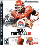 NCAA Football '10 PS3 cover (BLUS30355)