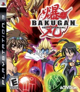 Bakugan Battle Brawlers PS3 cover (BLUS30356)