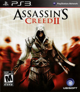 Assassin's Creed II PS3 cover (BLUS30364)