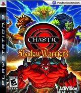 Chaotic: Shadow Warriors PS3 cover (BLUS30389)