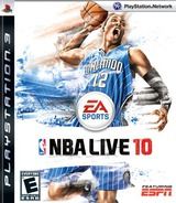 NBA Live '10 PS3 cover (BLUS30393)