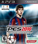 Pro Evolution Soccer 2010 PS3 cover (BLUS30404)