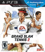 Grand Slam Tennis 2 PS3 cover (BLUS30417)