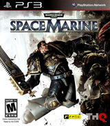 Warhammer 40000: Space Marine PS3 cover (BLUS30432)