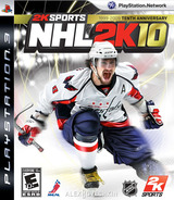 NHL 2K10 PS3 cover (BLUS30438)