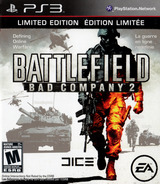 Battlefield: Bad Company 2 PS3 cover (BLUS30458)