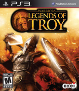 Warriors: Legends of Troy PS3 cover (BLUS30502)