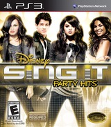 Disney Sing It: Party Hits PS3 cover (BLUS30603)