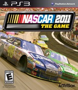 NASCAR The Game 2011 PS3 cover (BLUS30604)