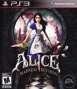 Alice: Madness Returns PS3 cover (BLUS30607)