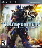 Transformers: Dark of the Moon PS3 cover (BLUS30709)