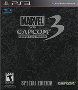 Marvel vs. Capcom 3: Fate of Two Worlds PS3 cover (BLUS30714)