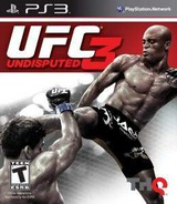 UFC Undisputed Three PS3 cover (BLUS30738)