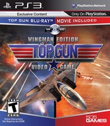 Top Gun PS3 cover (BLUS30739)
