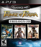 Prince of Persia Trilogy 3D PS3 cover (BLUS30754)