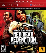 Red Dead Redemption: Game of the Year Edition PS3 cover (BLUS30758)