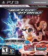 Tekken Hybrid PS3 cover (BLUS30766)