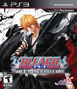 Bleach: Soul Resurreccion PS3 cover (BLUS30769)