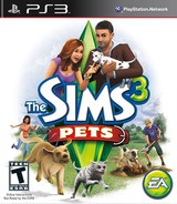 The Sims 3: Pets PS3 cover (BLUS30803)